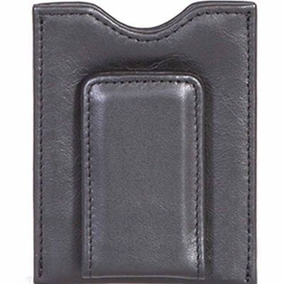 Buy Scully Leather Genuine Leather Magnetized Money Clip; 21-11-24-F Online