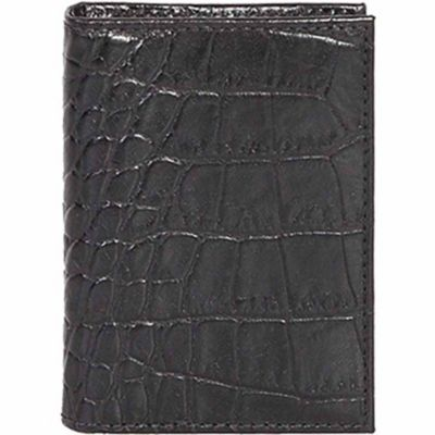 Buy Scully Leather Genuine Leather Gusseted Card Case; 3032-0-43-F Online