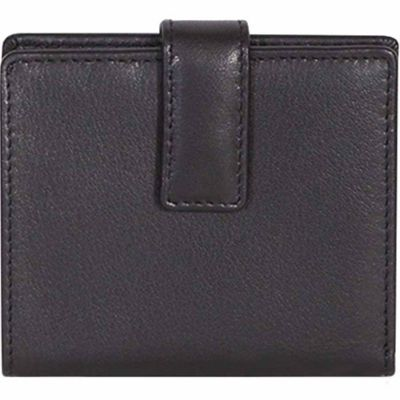 Buy Scully Leather Ladies Genuine Leather Mini Wallet with Tab Closure; 4001-11-24-F Online