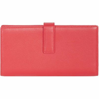 Buy Scully Leather Ladies Genuine Leather Tab Clutch Wallet Online