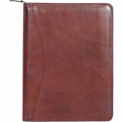Buy Scully Leather Genuine Leather Zip Letter Pad; 5012Z-06-30-F Online