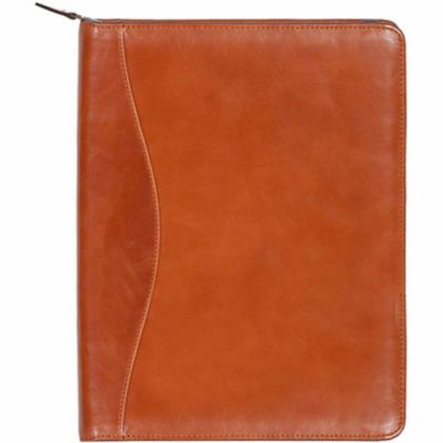 Buy Scully Leather Genuine Leather Zip Letter Pad; 5012Z-06-40-F Online