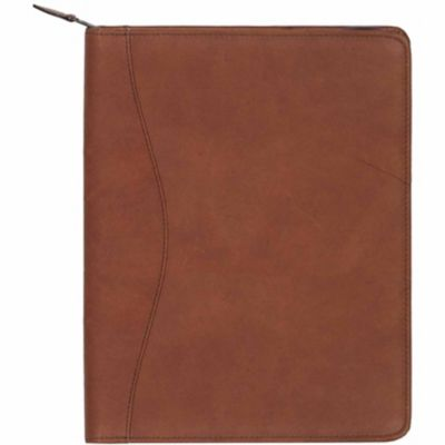 Buy Scully Leather Genuine Leather Zip Letter Pad; 5012Z-34-23-F Online
