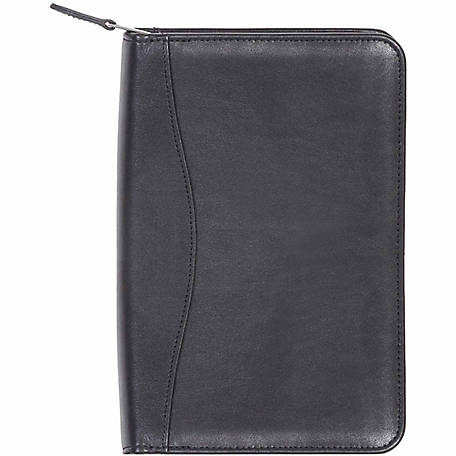 Scully Leather Genuine Leather Junior Zip Padfolio, 5019Z-11-24-F