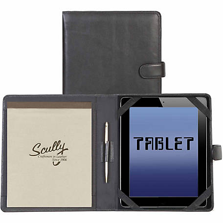 Scully Leather Genuine Leather Tablet Cover