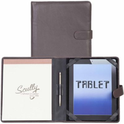 Buy Scully Leather Genuine Leather Tablet Cover; 57-11-25-F Online
