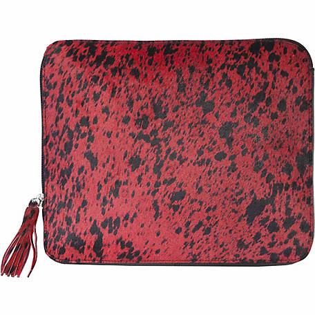 Scully Leather Genuine Leather Zip-Around Tablet Cover