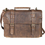 Scully Leather Lamb Leather Satchel Brief, 602-10-29-F