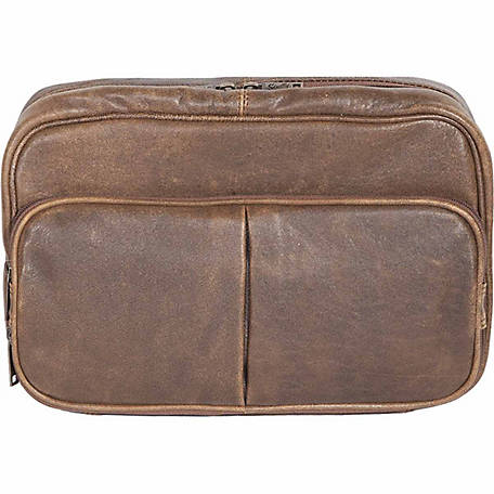 Scully Leather Lamb Leather Travel Kit, 634-10-29-F