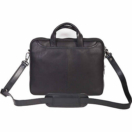 Scully Leather Plonge Leather Tablet Briefcase, 749-11-24-F