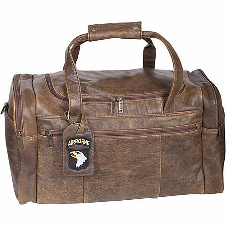Scully Leather Lamb Leather Duffle Bag, 802-10-29-F