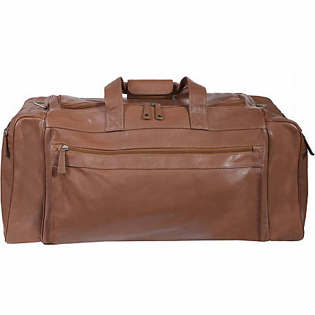 Scully Leather Large Leather Duffle Bag, 804-17-23-F
