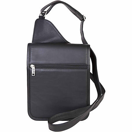 Scully Leather Sierra Collection Leather Travel Bag