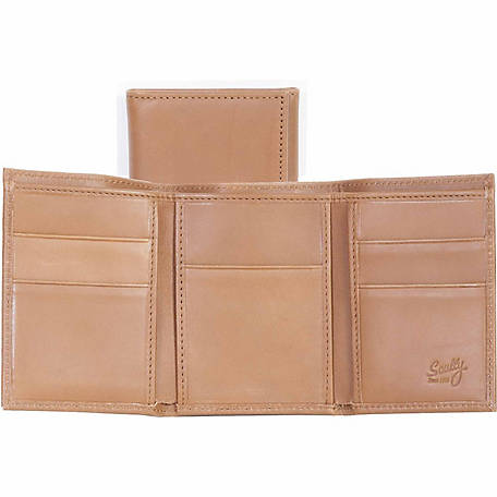 Scully Leather Genuine Leather Three-Fold, RG10-45-174-F