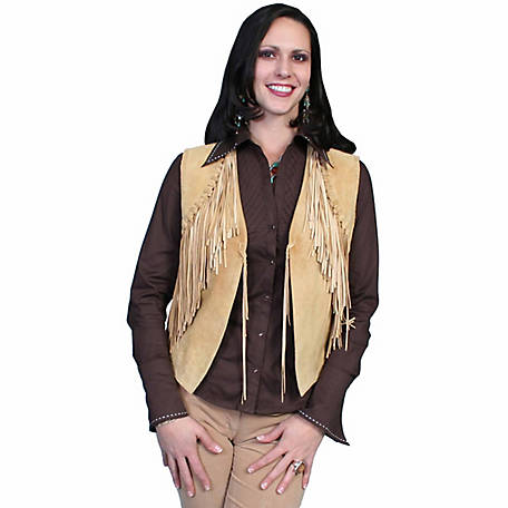 Scully Leather Women's Boar Suede Vest