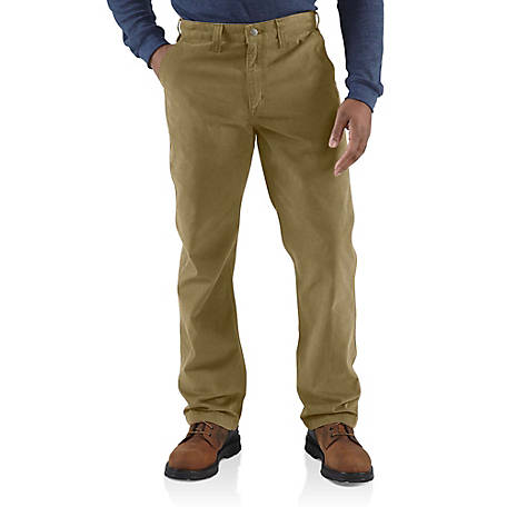 Carhartt Men's Rugged Khaki Pants