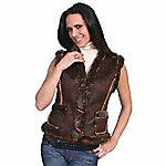 Honey Creek Women's Faux Shearling Vest