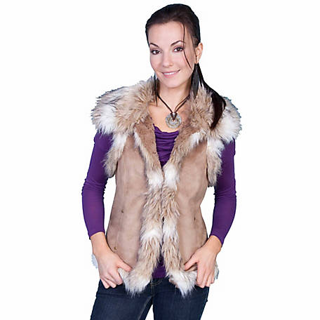 Honey Creek Women's Faux Fur Vest