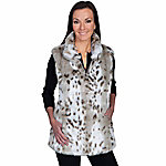 Honey Creek Women's Faux Leopard Vest