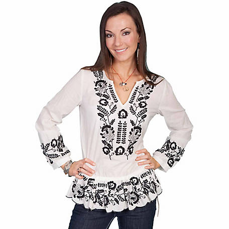 Honey Creek Women's Embroidered Tunic