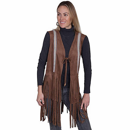 Honey Creek Women's Long Fringe Vest
