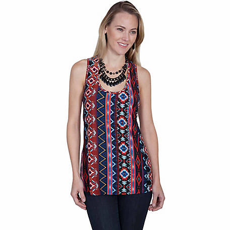 Honey Creek Women's Aztec Print Tank