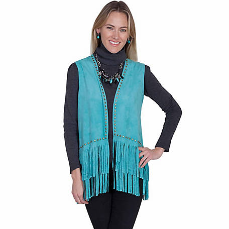 Honey Creek Women's Studded Fringe Vest