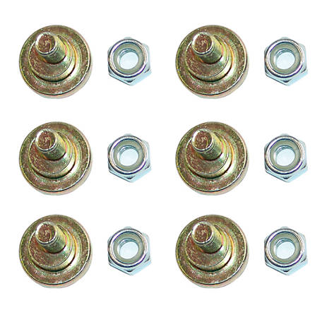CountyLine Disc Mower Bolt, OEM 81160K, Pack of 6