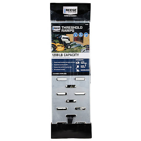 Reese Explore Steel Threshold Ramp, 11 in. x 40 in., 9516033