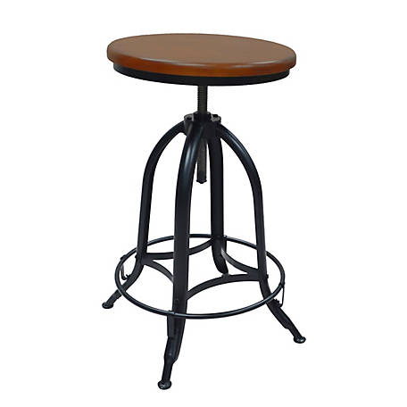 Carolina Chair & Table Blainey Adjustable Height Backless Stool, Set of 2