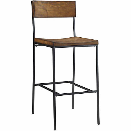 Carolina Chair & Table Park Valley Bar Stool, Chestnut Finish, 30 in.