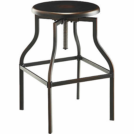 Carolina Chair & Table Walton Stool Solid Metal Design