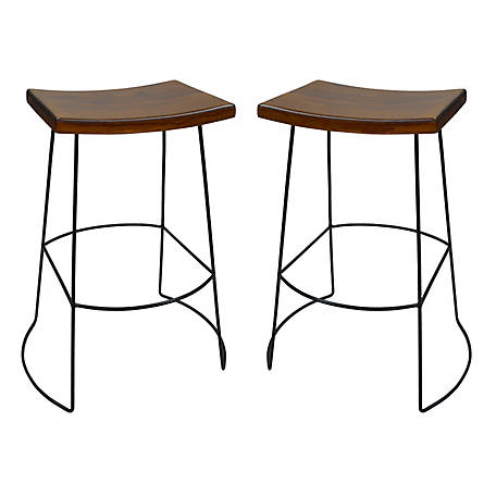 Carolina Chair & Table Portland Saddle Seat Barstool
