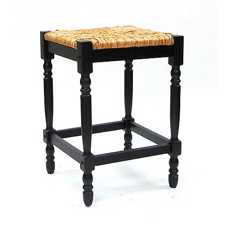 Carolina Chair & Table Thomasville Counter Stool Black
