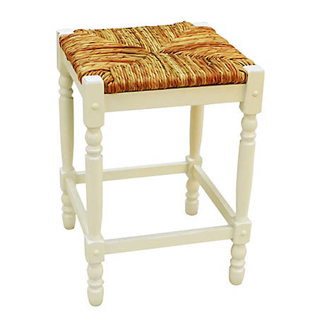 Carolina Chair & Table Thomasville Counter Stool, White