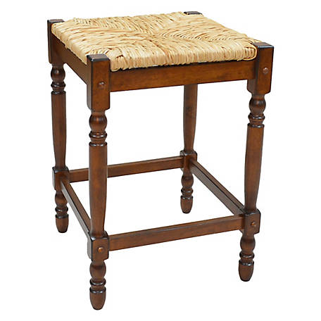 Carolina Chair & Table Thomasville Counter Stool, Chestnut