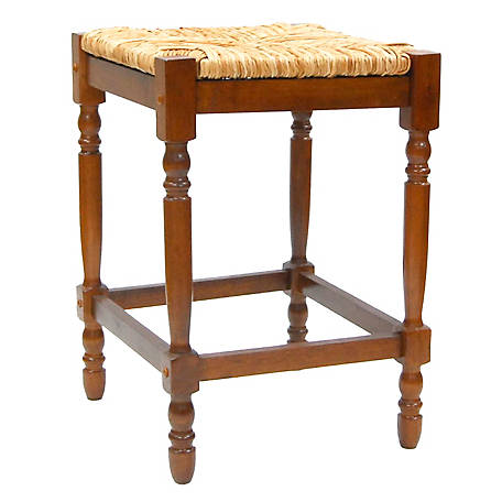 Carolina Chair & Table Thomasville Counter Stool, Walnut