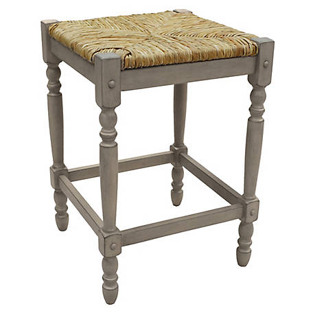 Carolina Chair & Table Thomasville Counter Stool, Weathered Gray