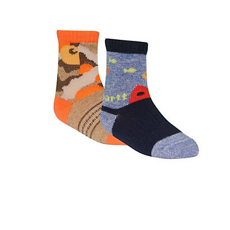 Carhartt Crew Sock with Grippers, Pack of 2