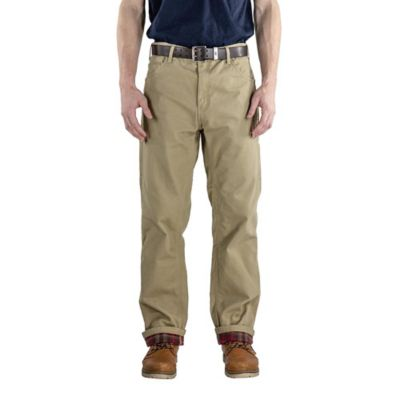 Berne Men S Washed Duck Flannel Lined Carpenter Pant P963 At Tractor Supply Co