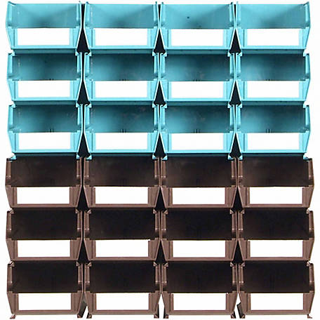 LocBin 26-Piece Wall Storage Unit