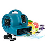 XPOWER P-450AT 1/3 HP Freshen Aire Scented Air Mover Fan with Timer & Power Outlets