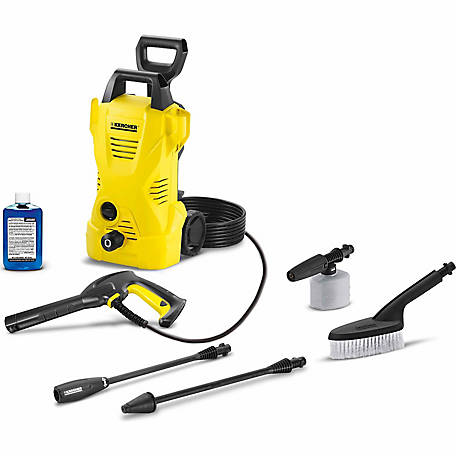 Karcher K2 Car & Home Kit 1600 PSI 1.25 GPM Electric Power Pressure Washer, 1.602-317.0