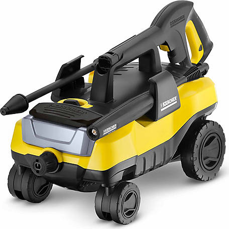 Karcher K3 Follow-Me 1800 PSI 1.3 GPM Electric Power Pressure Washer with 4-Wheels, 1.601-990.0