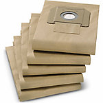 Karcher NT Paper Filter Bag, Pack of 5