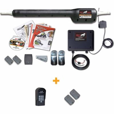 Gates & Gate Openers at Tractor Supply Co. on stanley gate latch, mighty mule parts, mighty mule driveway gates,