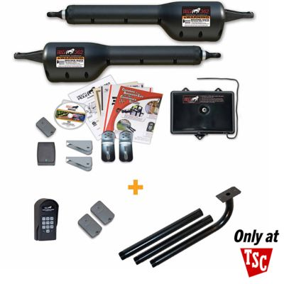 mighty mule hfdck362 automatic gate opener hobby farmer deluxe combo kit