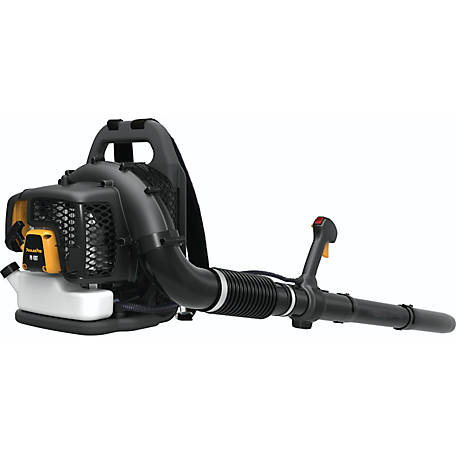 Poulan Pro PR48BT 48cc 2-Cycle Gas 475 CFM 200 MPH Backpack Leaf Blower, 967087101