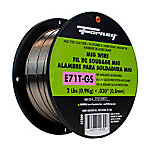 Forney .030 in. E71T-GS Flux Core Mild Steel MIG Welding Wire, 2 lb.