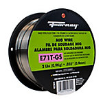 Forney .035 in. E71T-GS Flux Core Mild Steel MIG Welding Wire, 2 lb.